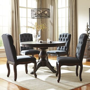 Baxter 5 Piece Dining Set by Loon Peak