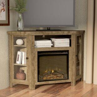 tieton corner 48 tv stand with fireplace - Tv Stands Corner