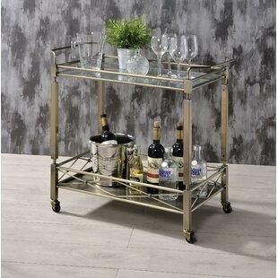 Ervin Metal Framed Bar Cart