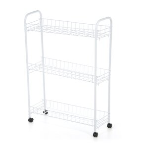 3 Tier Rolling Household Laundry Cart
