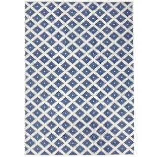 Nizza Blue Reversible Rug by bougari