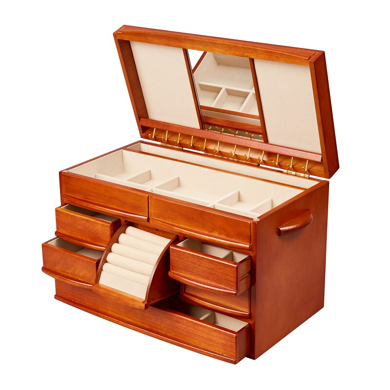 1ad998c18 Darby Home Co Sharman Jewelry Box & Reviews | Wayfair