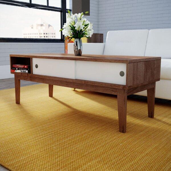 Wrought Studio Lincolnwood Soft Modern Coffee Table U0026 Reviews | Wayfair