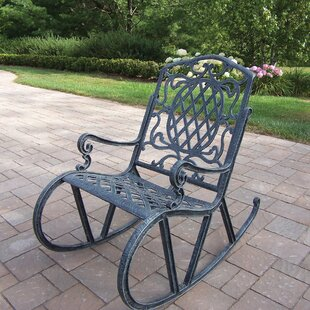 Wrought Iron Rocking Chairs Wayfair