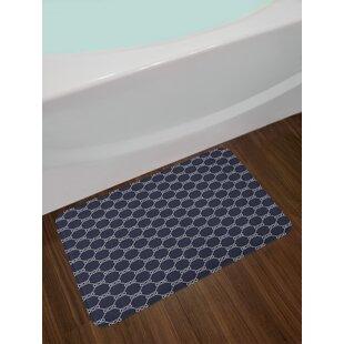 Navy Blue Bath Rug