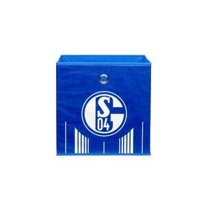 3-tlg. Faltbox FC Schalke 04 Signet von All Home