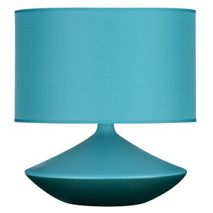 Teal table lamp wayfair save mozeypictures Image collections