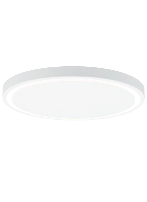 Crest 1 light flush mount