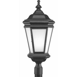 Triplehorn 1-Light Traditional Lantern Head in Black
