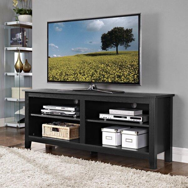 Beachcrest Home Sunbury 58 TV Stand with Optional Fireplace