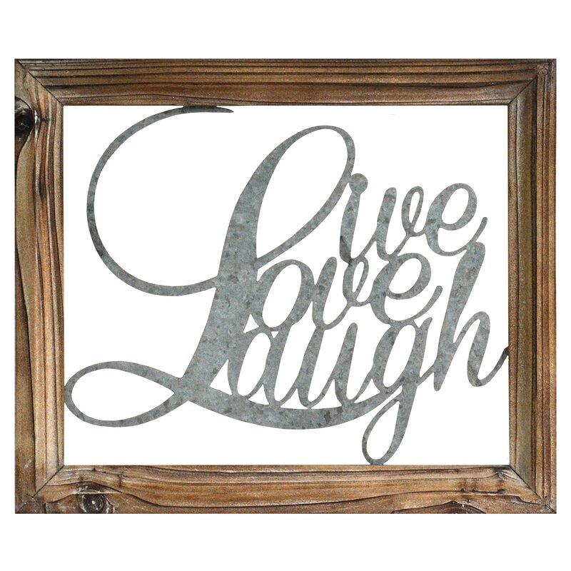Attractive Live Laugh Love Wall Décor