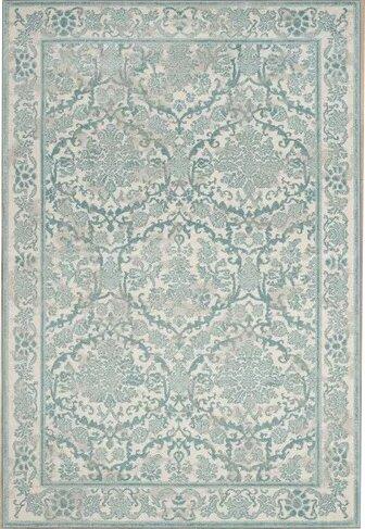 Montelimar Ivory/Light Blue Area Rug