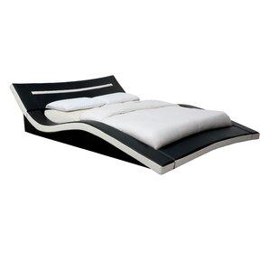 Birdsboro Upholstered Platform Bed by Wade Logan