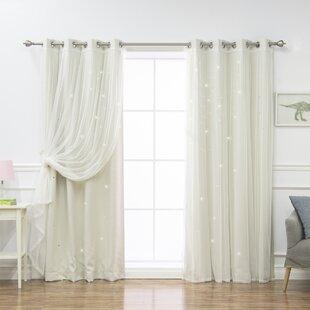 Polka dot curtains drapes you 39 ll love wayfair for Thermal star windows