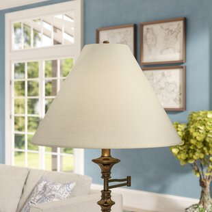 Lamp shades youll love wayfair 21 linen empire lamp shade aloadofball Gallery