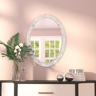 Wall Mirror With Crystals Wayfair - Unique-wall-mirrors-from-opulent-items