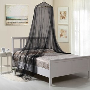 Laurencho Round Hoop Sheer Bed Canopy Net