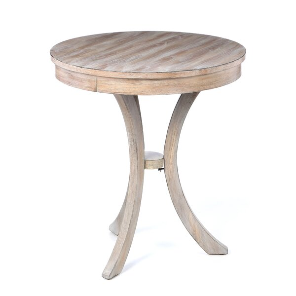 Colton round end table reviews birch lane for Round table 85 ortenau