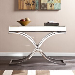 Amazing Grigor Mirrored Console Table