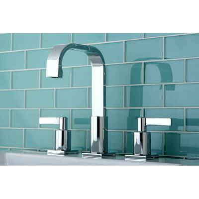 Continental Widespread Bathroom Faucet with Drain Assembly