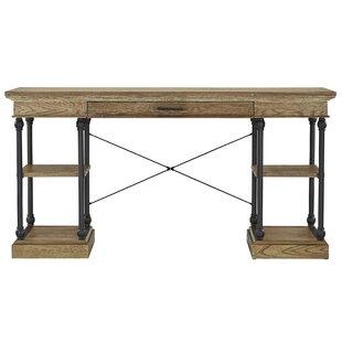 Mahogany finish home office corner shelf Furniture Quickview Joss Main Desks Joss Main