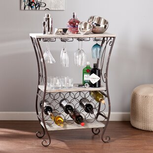 Arsenio 18 Bottle Floor Wine Rack