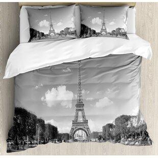 Eiffel Tower Comforter Set Wayfair