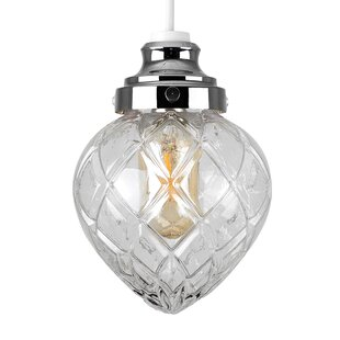Glass light shade wayfair aphrodite 145cm glass novelty pendant shade mozeypictures Image collections