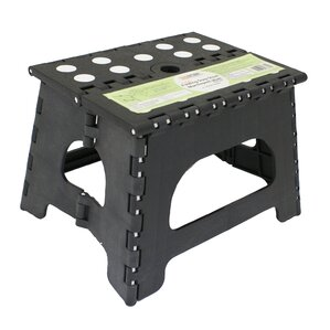 1step plastic folding step stool with 300 lb load capacity - Step Stool