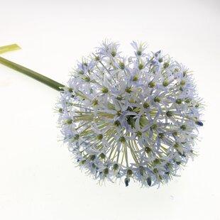 Long stem artificial flowers uk flowers healthy artificial allium stem blue artificial flowers wayfair co uk mightylinksfo