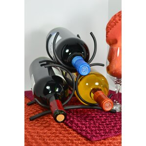 3 Bottle Tabletop Wine Rack by J & J Wire
