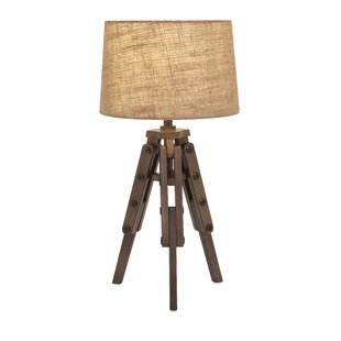 Tripod Wood Table Lamps You Ll Love Wayfair