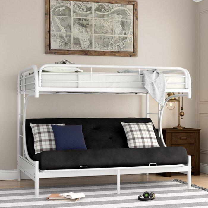 Kimble Twin Xl Over Queen Futon Bunk Bed