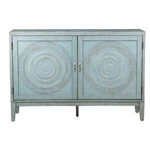 Devonne Embossed 2 Door Cabinet
