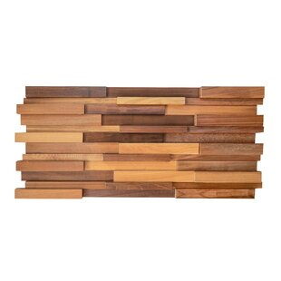 7 87 X 35 43 Reclaimed Solid Wood Wall Paneling In Brown