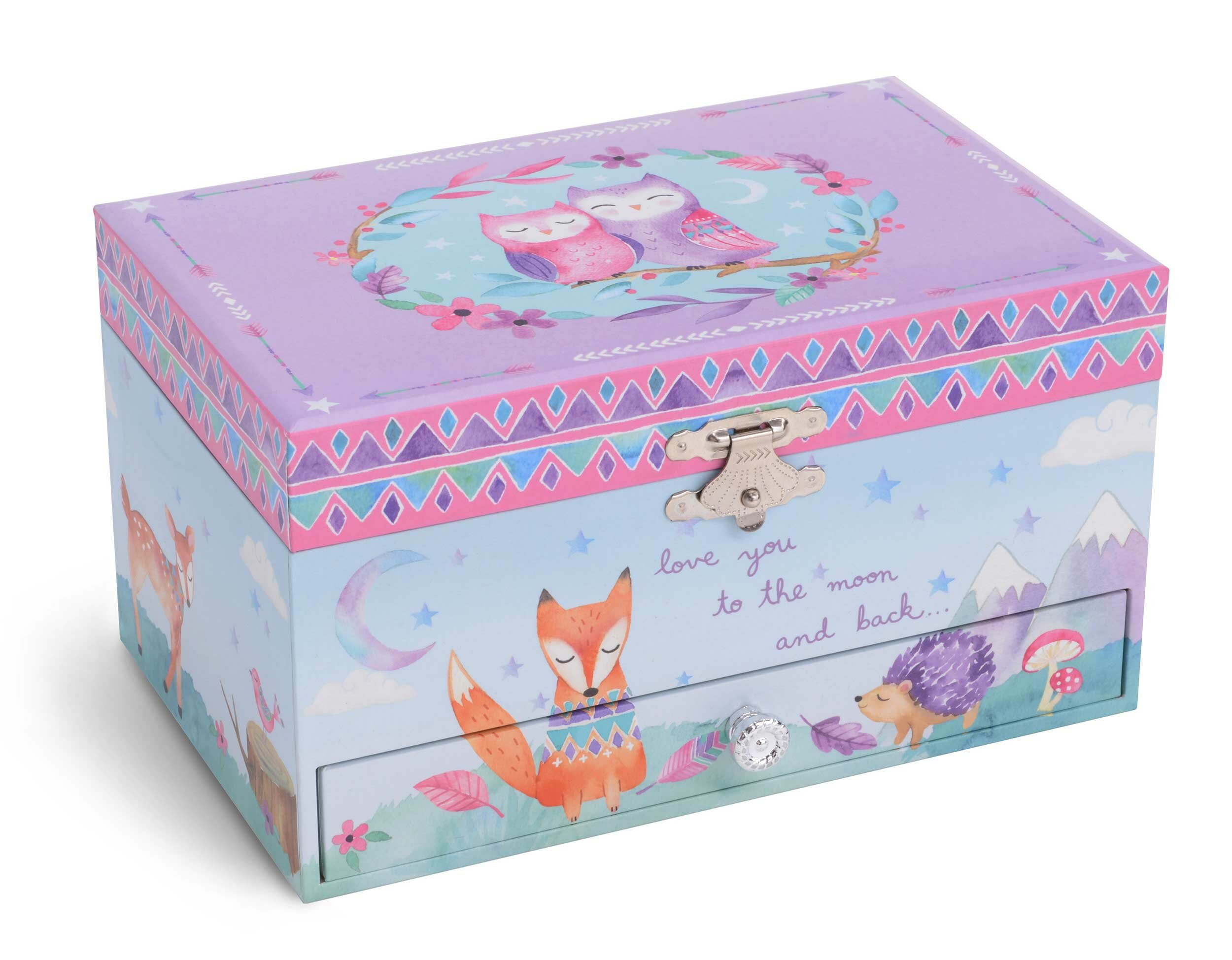 63fed0f9c1 Harriet Bee Woodland Twinkle Twinkle Little Star Musical Jewelry Box |  Wayfair