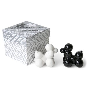 Poodle 2 Piece Salt and Pepper Set
