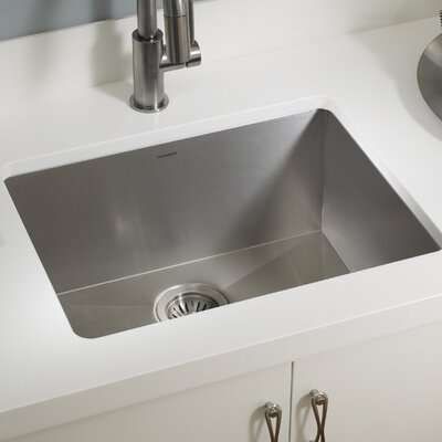 "Bathroom Sink 24 X 18 ukinox 24"" x 18"" undermount kitchen sink 