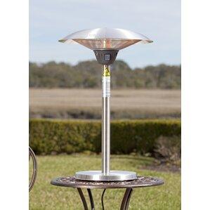 Elegant Cimarron Halogen 1500 Watt Electric Tabletop Patio Heater