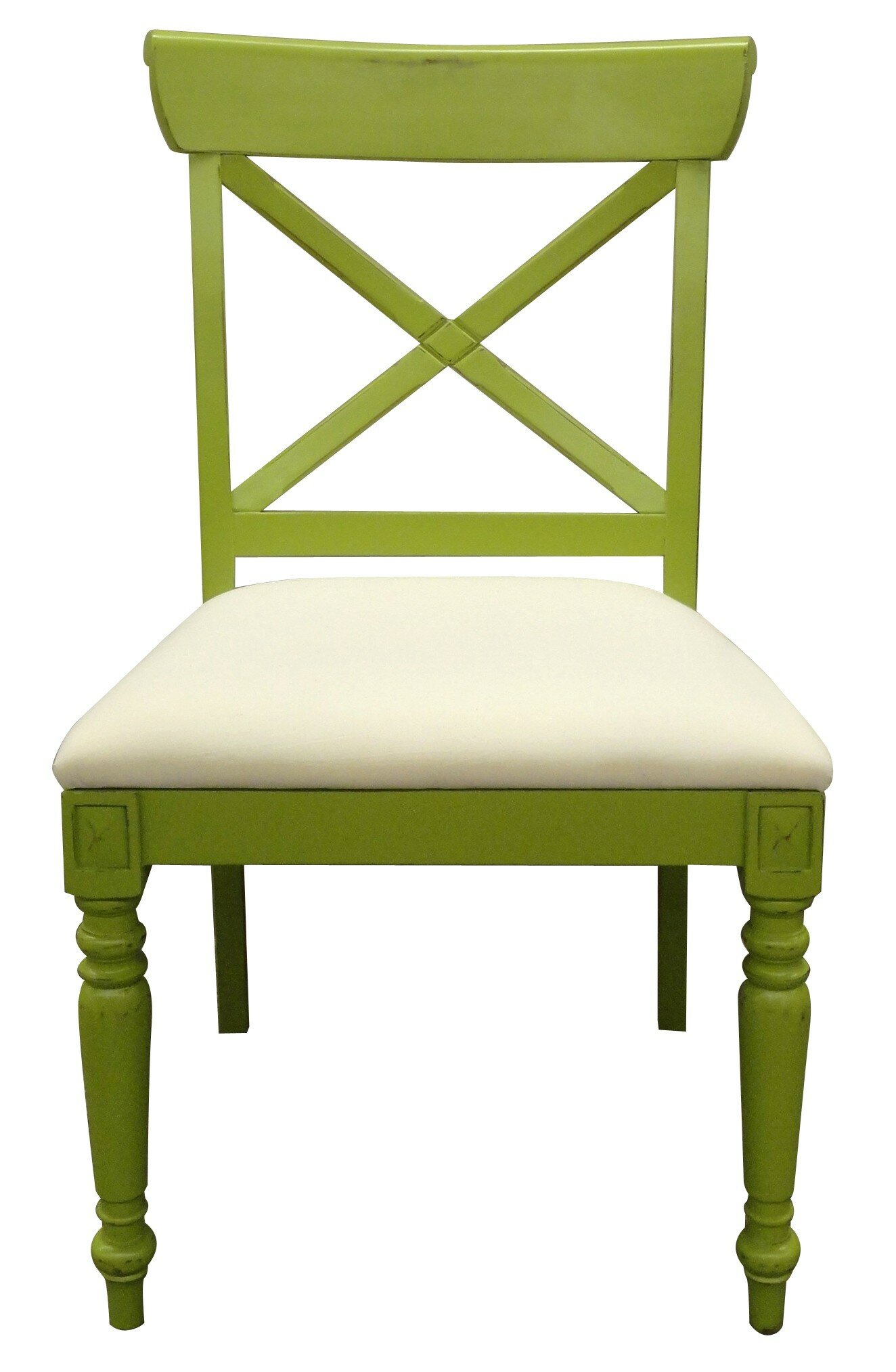 Trade Winds Furniture Cross Back Dining Chair | Perigold