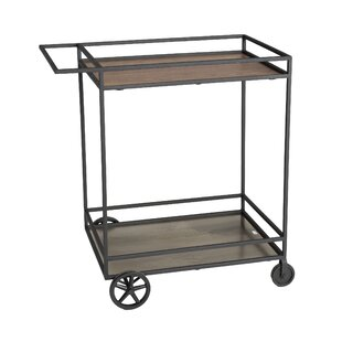 Desilets Lifestyle Trolley Bar Cart
