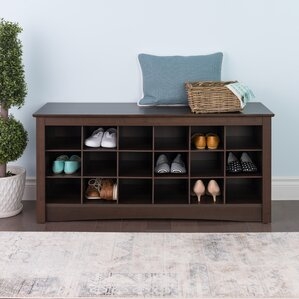 Sybil Wood Storage Bench