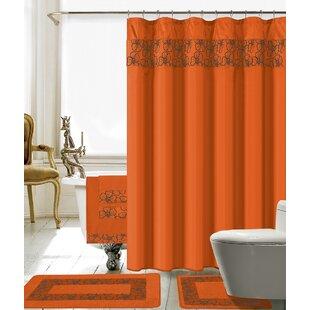 Rideaux De Douche Couleur Orange Wayfair Ca