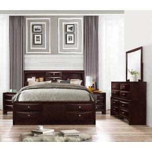 Espresso Bedroom Sets You\'ll Love | Wayfair