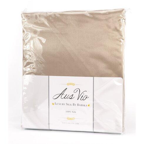 Barska Aus Vio Mulberry Silk Fitted Sheet Wayfair