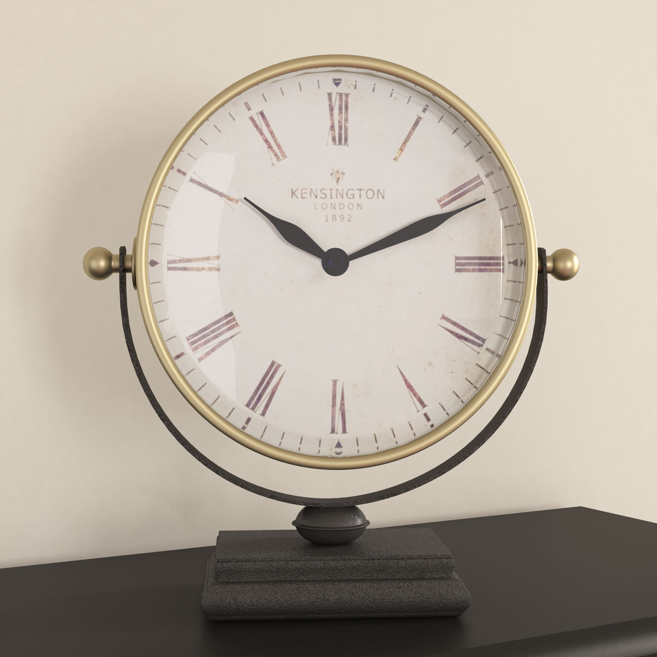 clock desk product engraving series marco specialists trophy