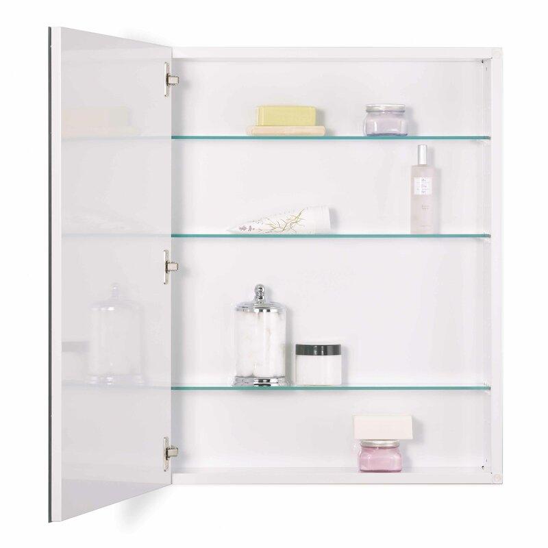 Jensen 24 X 30 Recessed Or Surface Mount Medicine Cabinet Reviews Wayfair