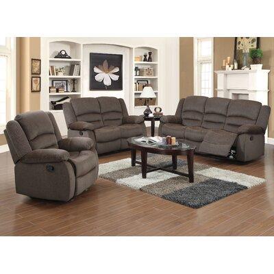 Madison Home Usa Classic  Piece Leather Living Room Set