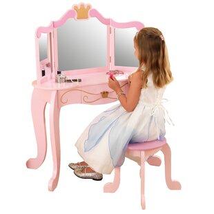 Princess Vanity Stool By Kidkraft