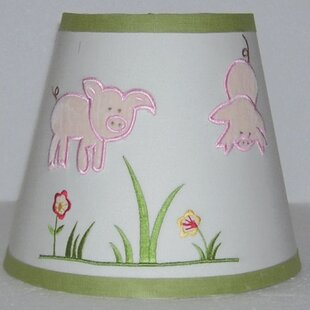 Embroidered Lamp Shades Embroidered lamp shade wayfair appletree farm 8 empire lamp shade audiocablefo